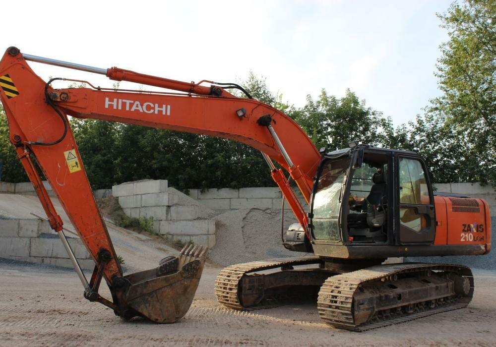 Экскаватор Хитачи Hitachi ZX210