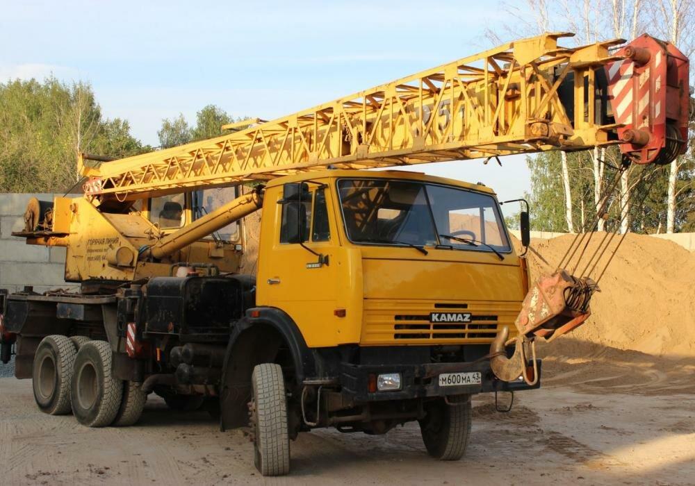 Автокран «Галичанин», 25 тонн